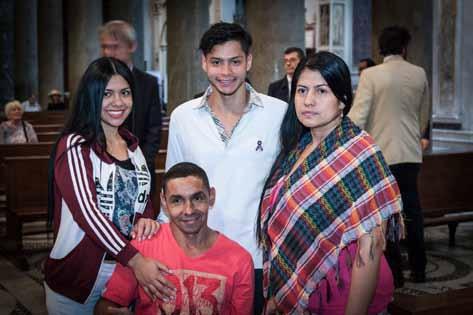 Zuleta Velasquez family