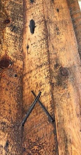 Nail marks -