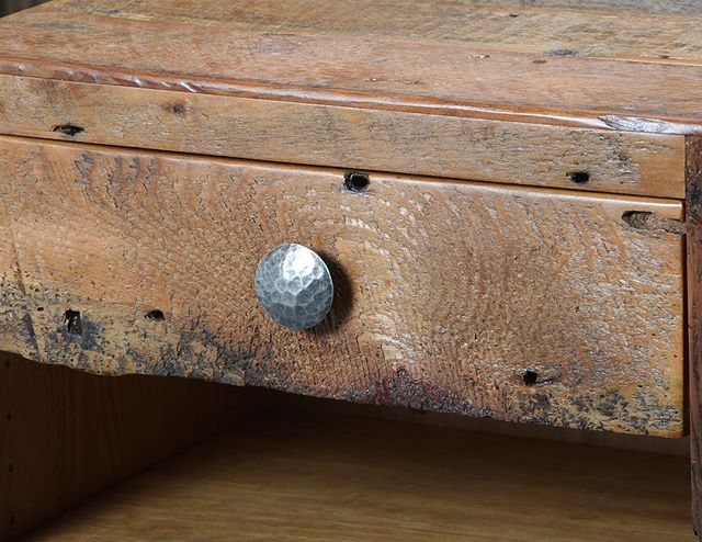 Reclaimed pine cabinet by Kathryn Hexum Designs. #reclaimedwoodfurniture #reclaimedwood