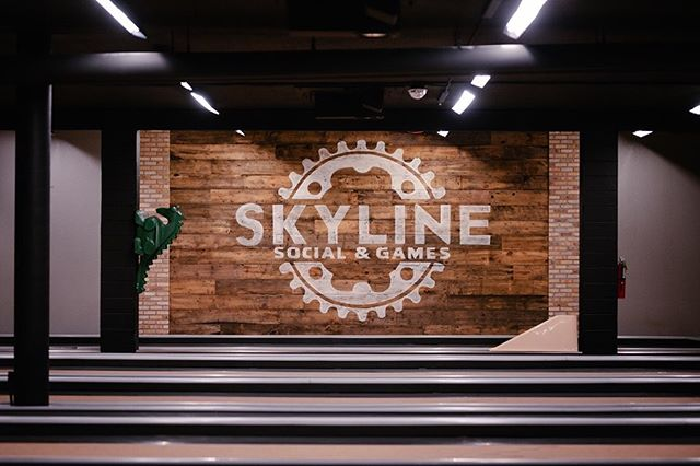 @skylinesocialandgames used our reclaimed paneling for their latest update. Give us a call if you want to give your business or home a historic accent. 715-718-4410  #reclaimedwood