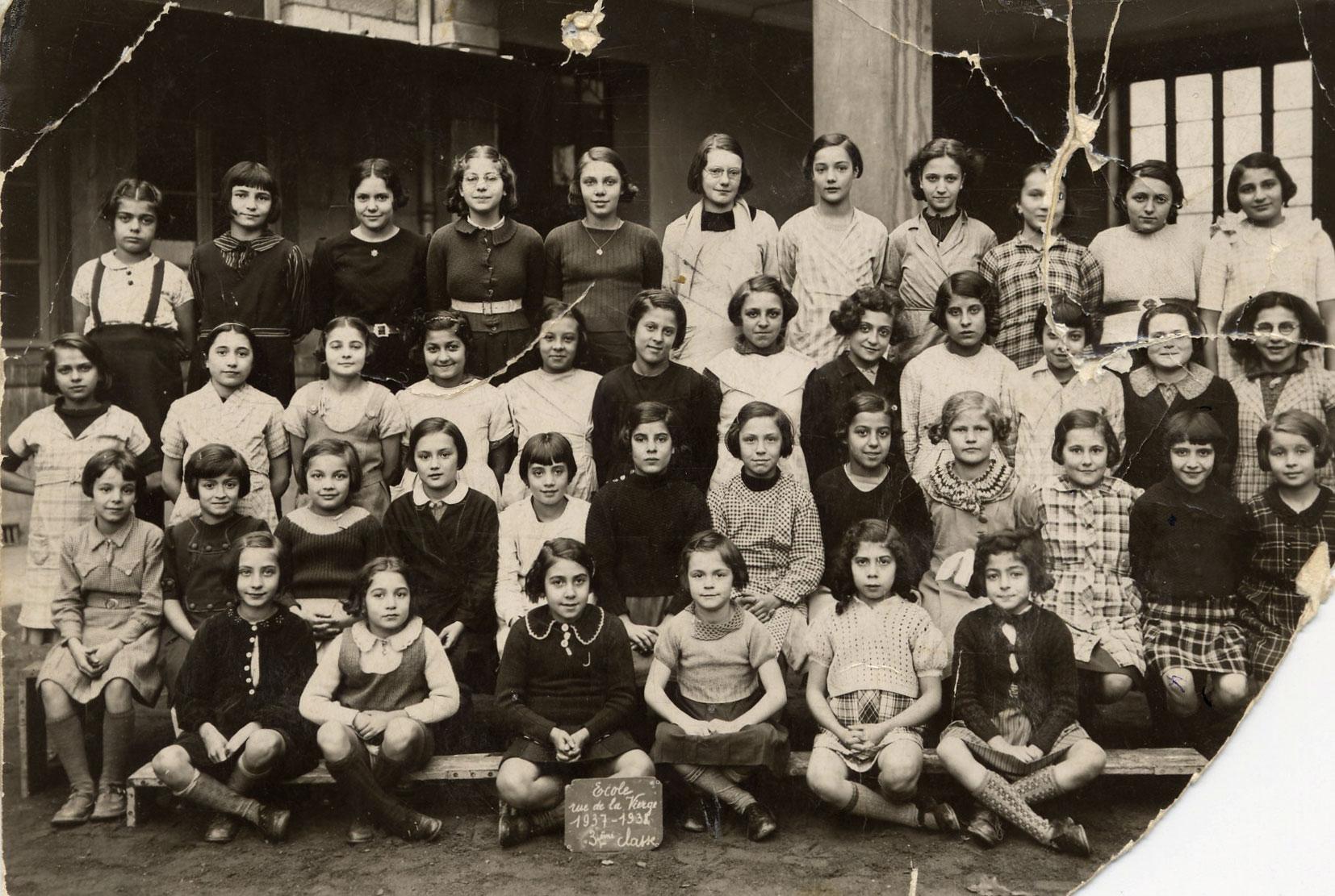 Photographie de classe, Hasson, Lyon