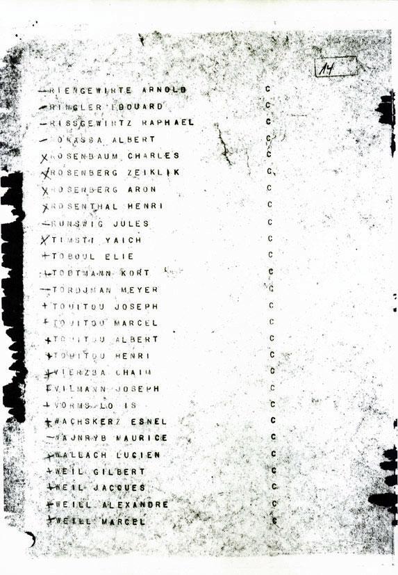 Document officiel, Touitou, Saint-Fons