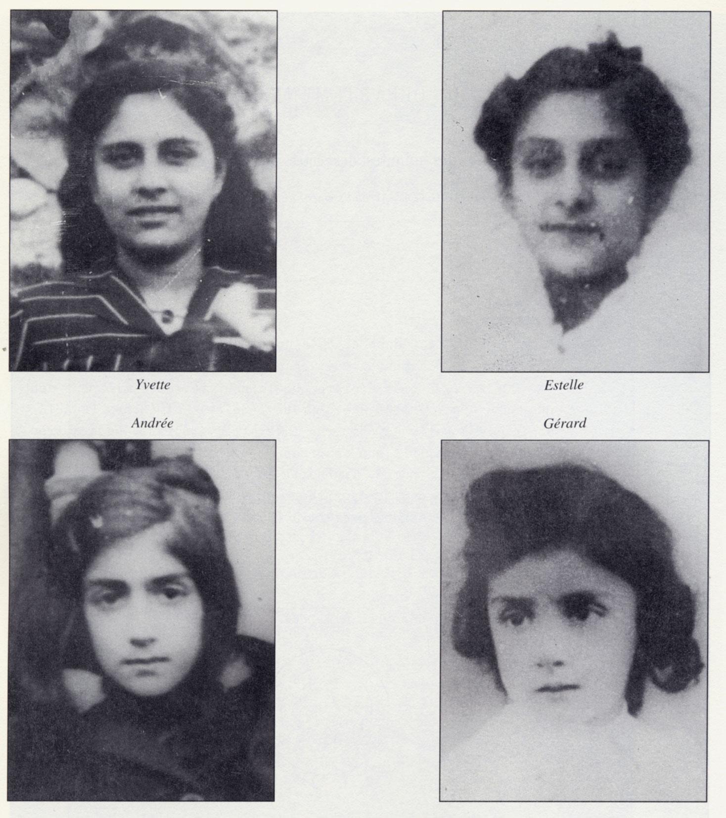 Photographies de Yvette, Estelle, Andrée et Gérard, Partouche, Saint-Fons