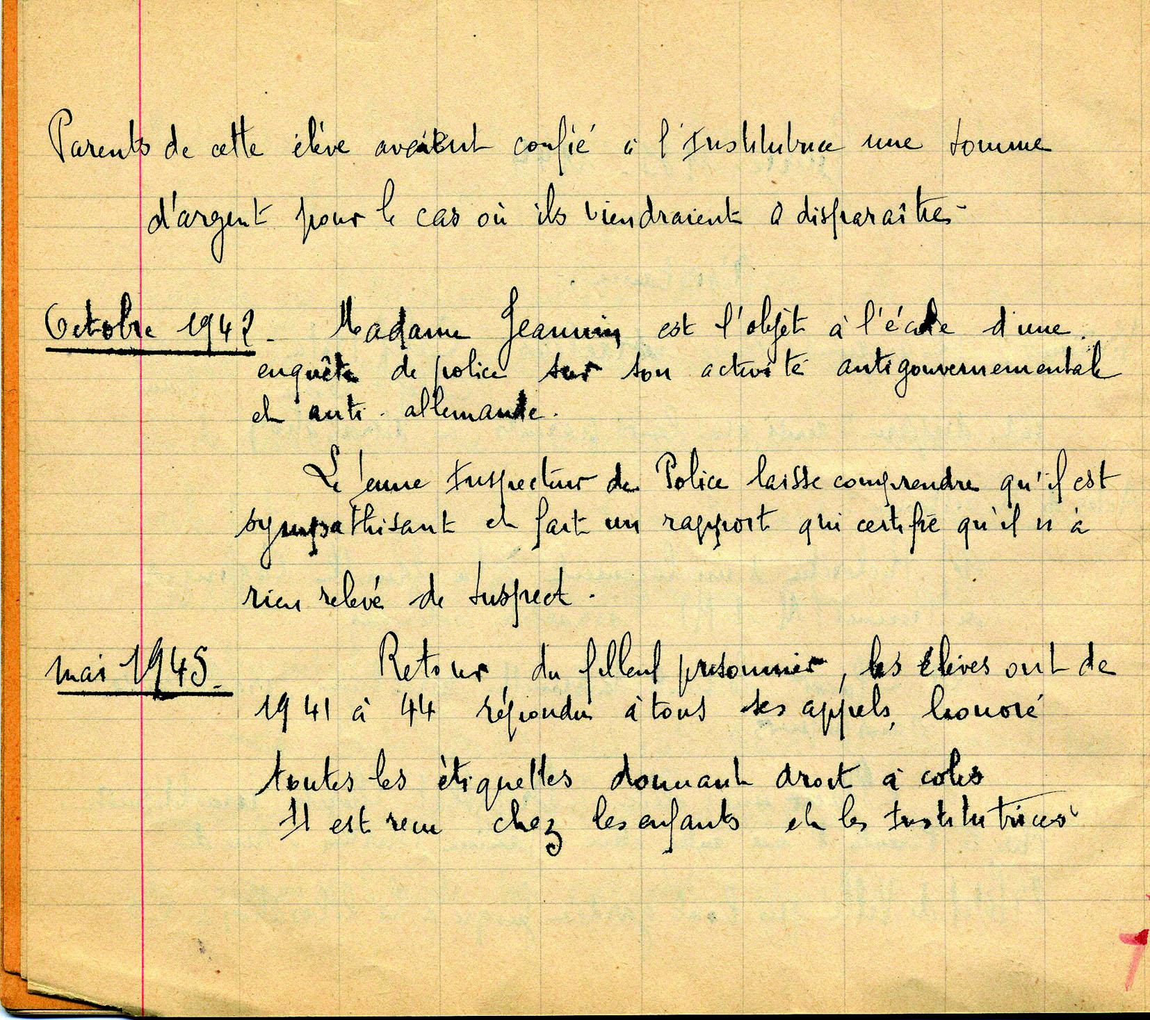 Carnet Historique - Meissonier / partie 3