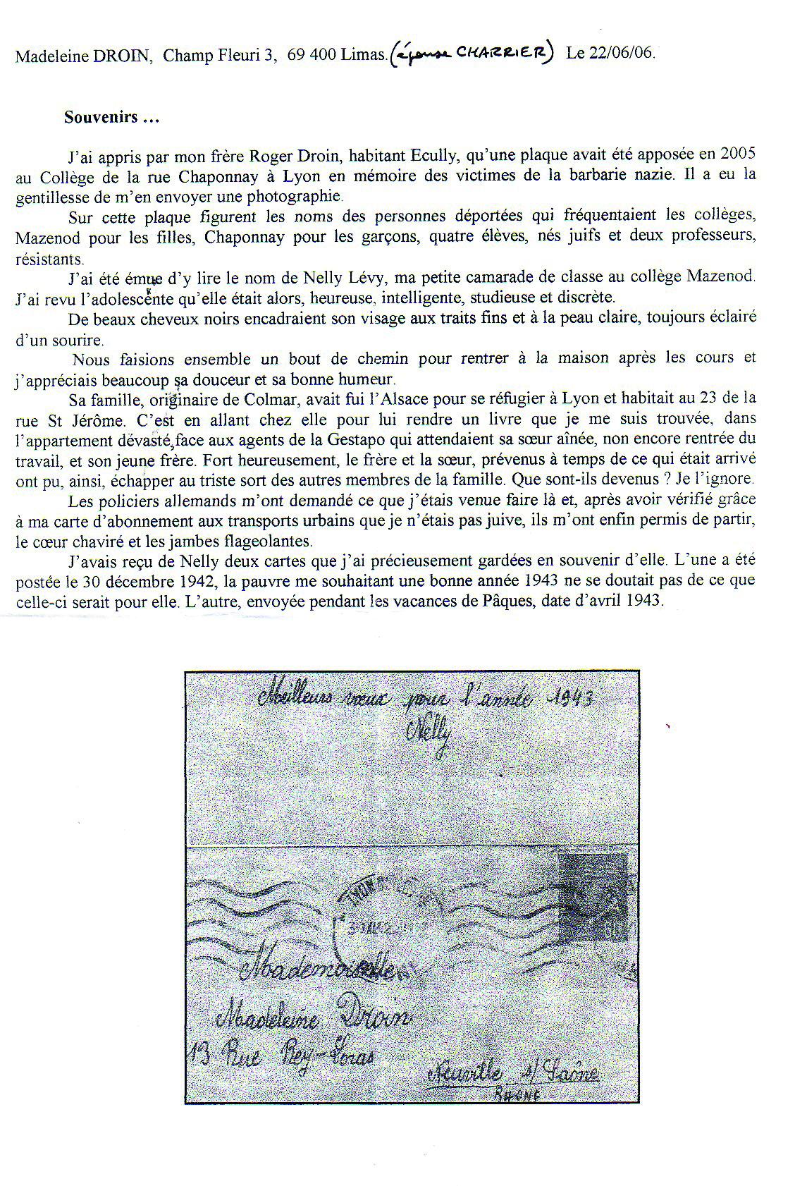 Famille Levy / Lyon