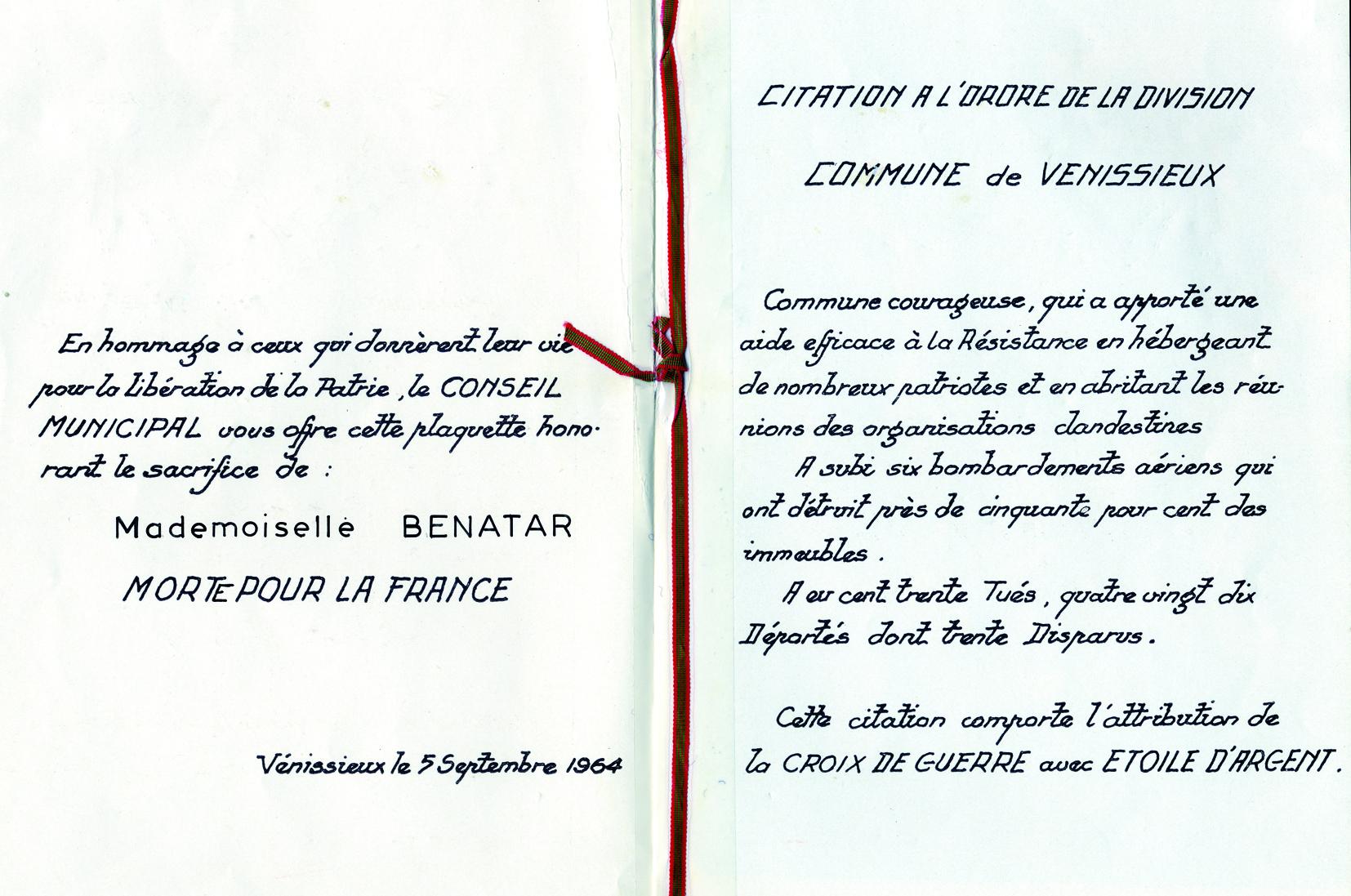 Benatar / Saint-Fons