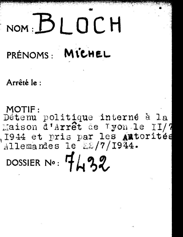 Bloch / Lyon