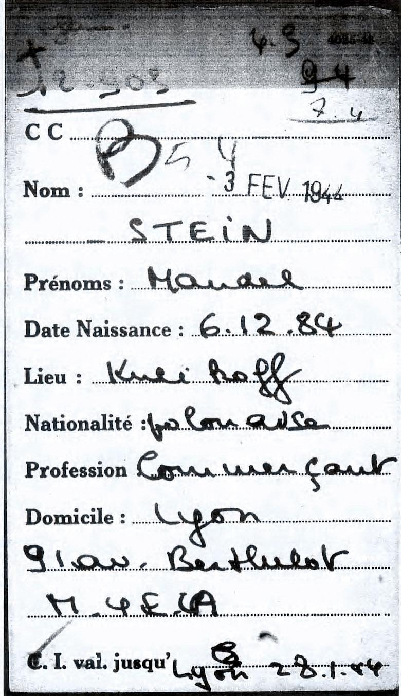 Stein / Lyon