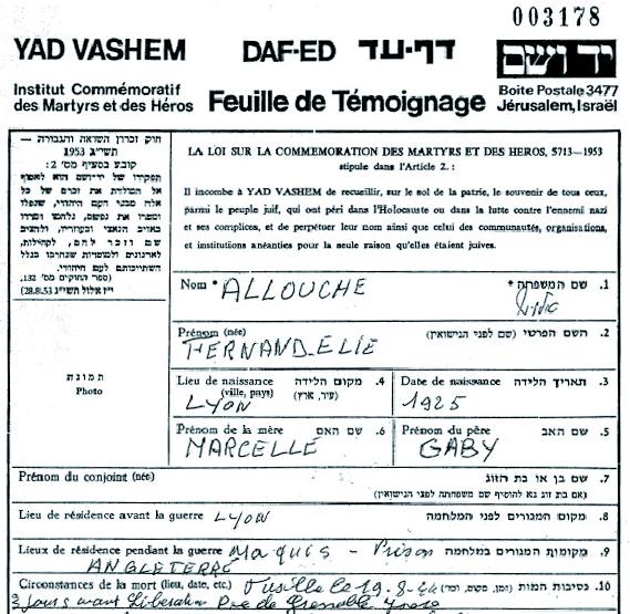 Allouche / Lyon