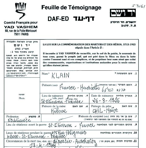 Klain / (ville non renseignée)