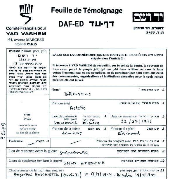 Dreyfus-Arlette-YVS-cadre (Fiche)
