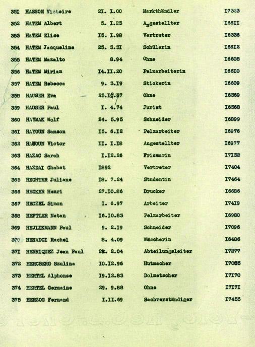 Hasson-Victoire-convoi-70 (Liste convoi de déportation)