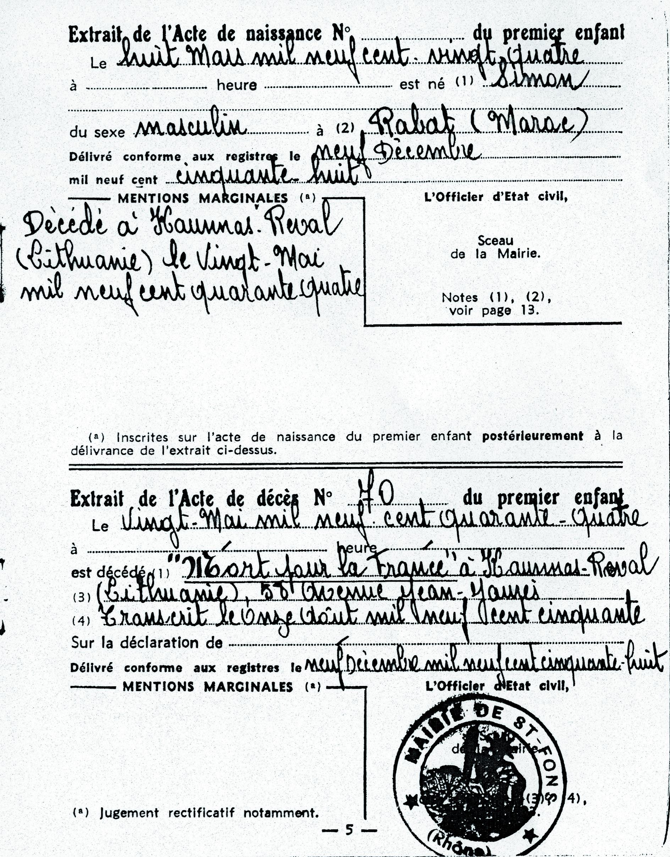 Kadosh-Simon-B (Document officiel)