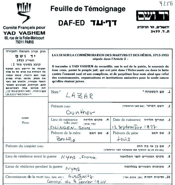 Lazare-Gunther-YVS-cadre (Fiche)