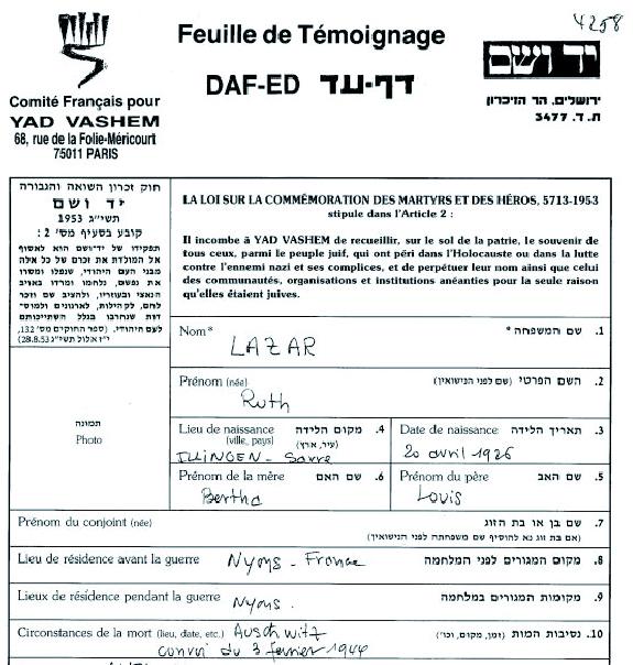 Lazare-Ruth-YVS-cadre (Fiche)