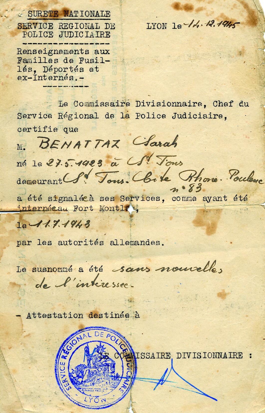 Benatar108 (Document officiel)