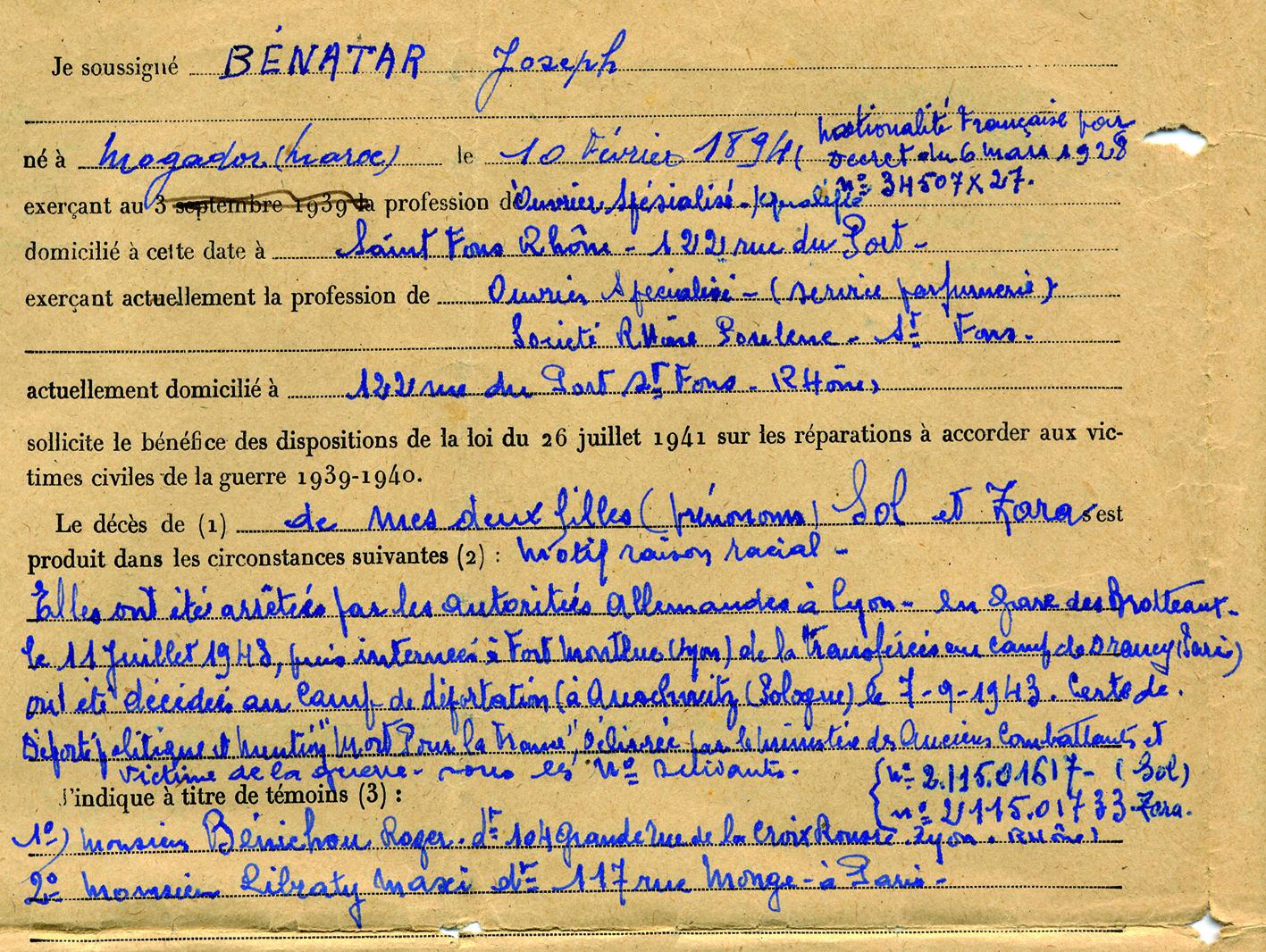 Benatar109 (Document officiel)