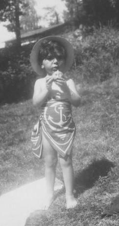 Flacsu Arlette, Eymoutiers juillet 1942