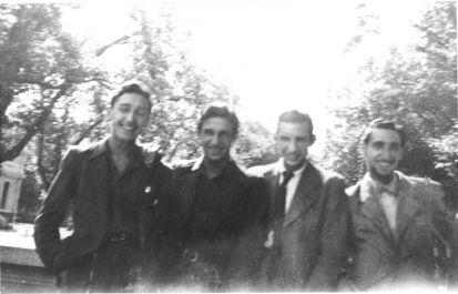 Henri, Jean, André, Dario Boccara Annecy 1942