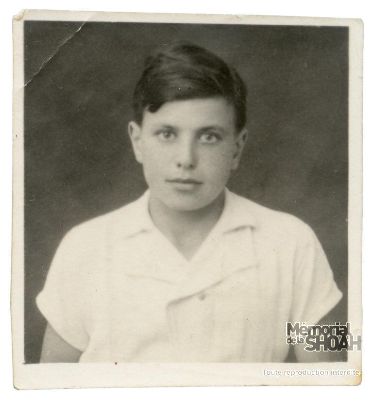 Claude Franck au Maraval. France, août 1943