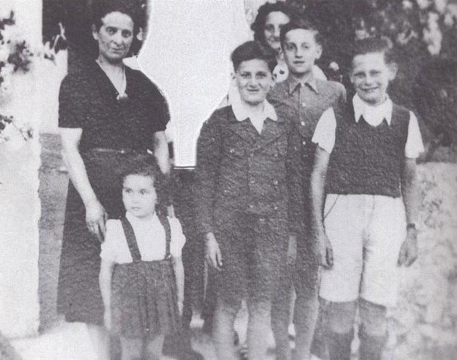 Lazar 1942 Nyons: Francine, Kurt et Ruth