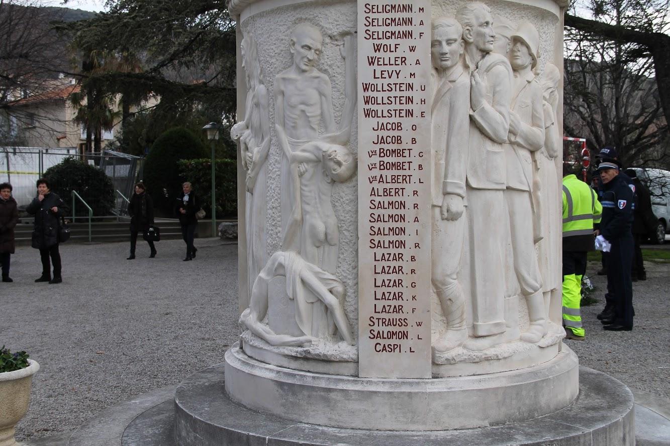 Lazar Monument morts Nyons