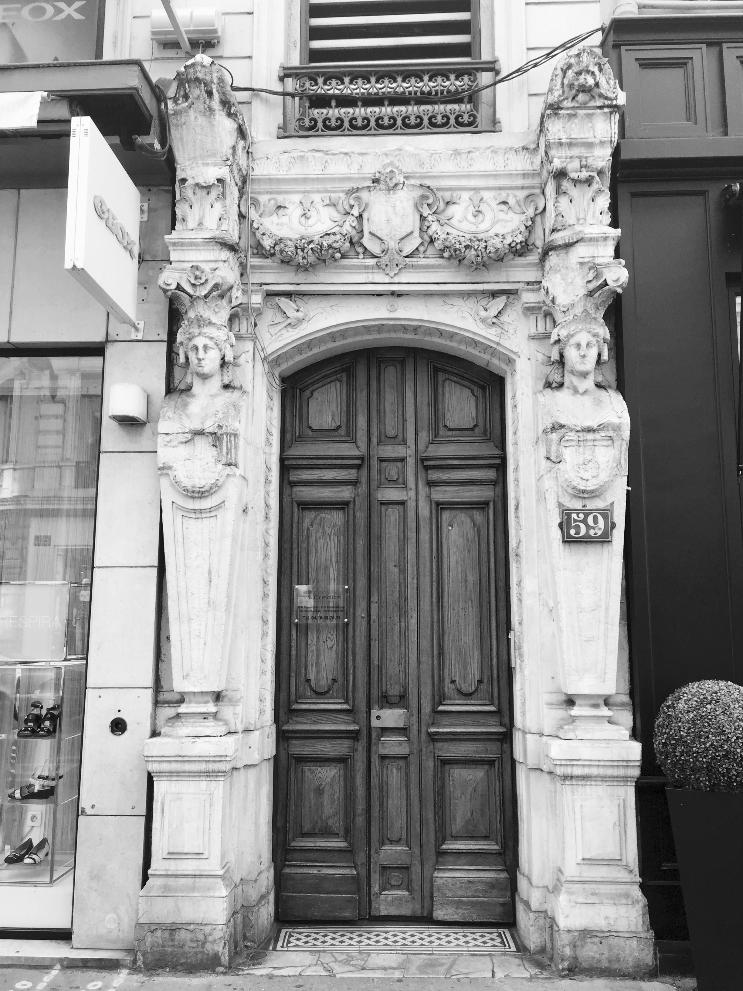 Immeuble à Lyon où Maurice habitait avec ses parents