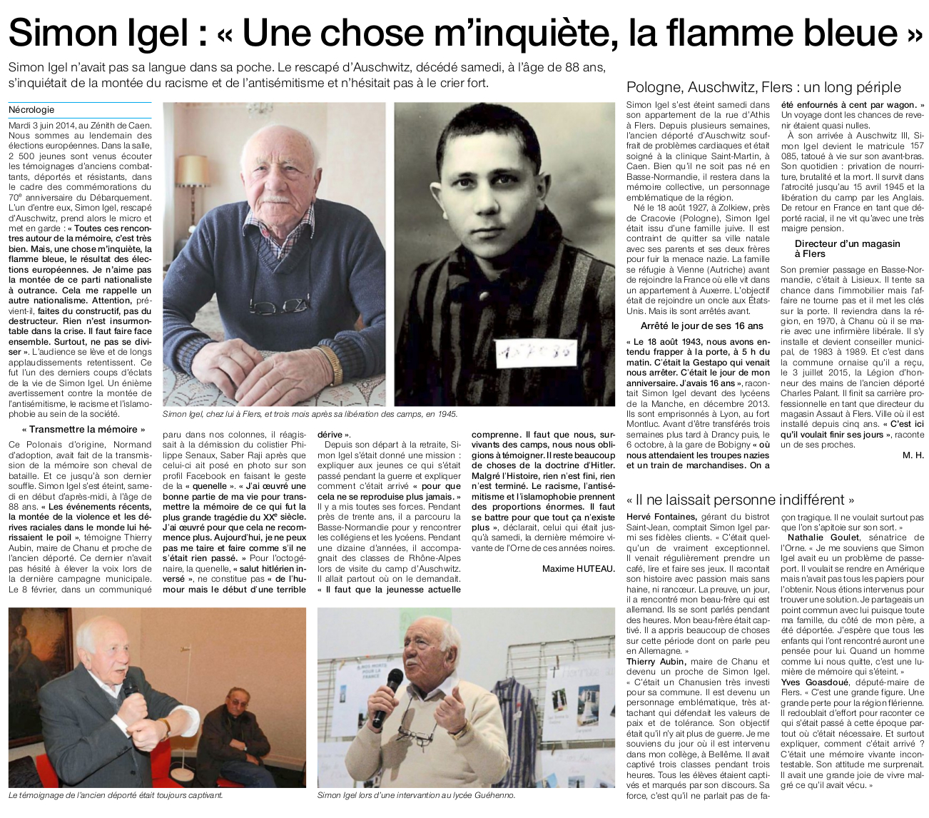 Disparition de Simon Igel
