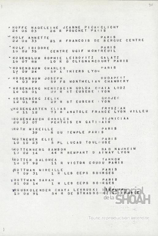 Charles Rosenbaum Convoi 77