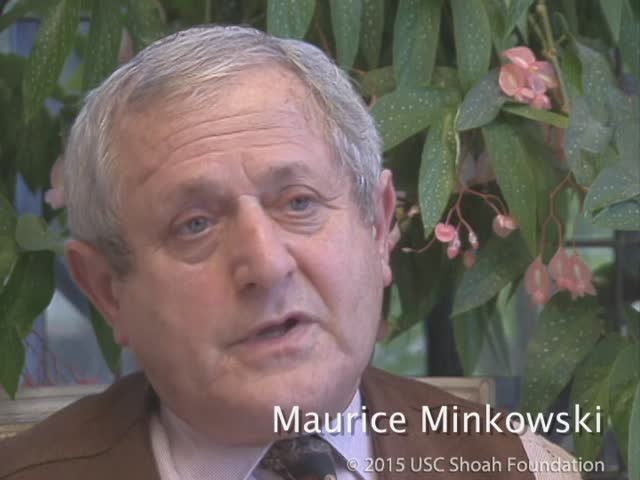 Maurice Minkowski 3 novembre 1996