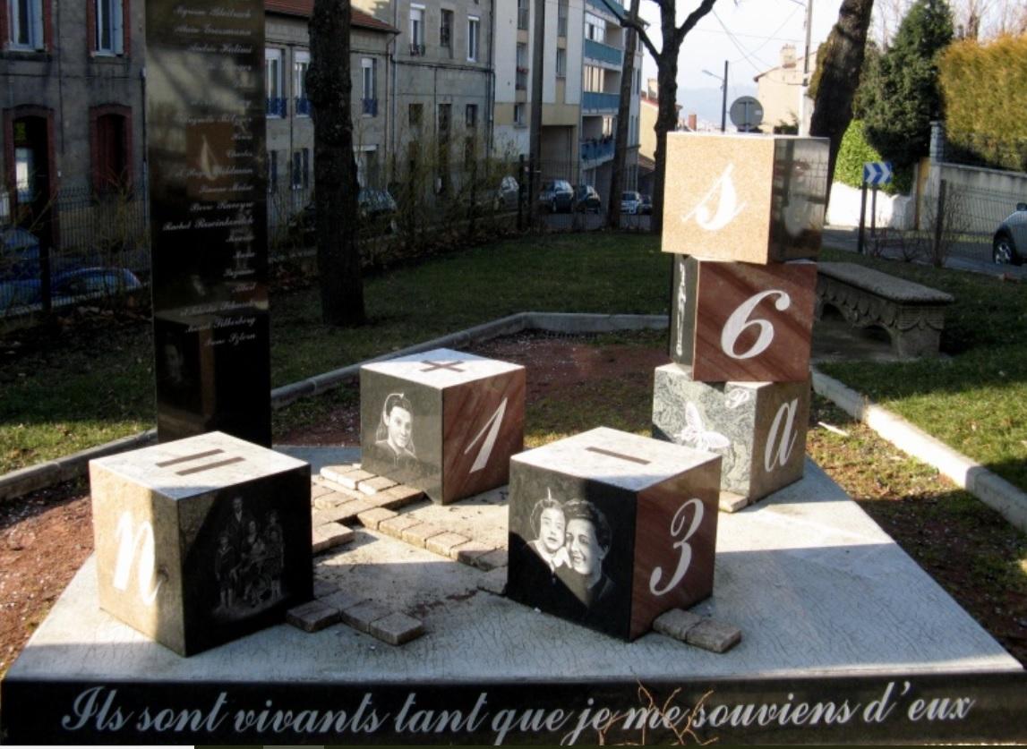 Square Alain Grossman à Saint Etienne