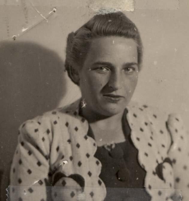 Simone Bloch, mère de Jacques et Liliane