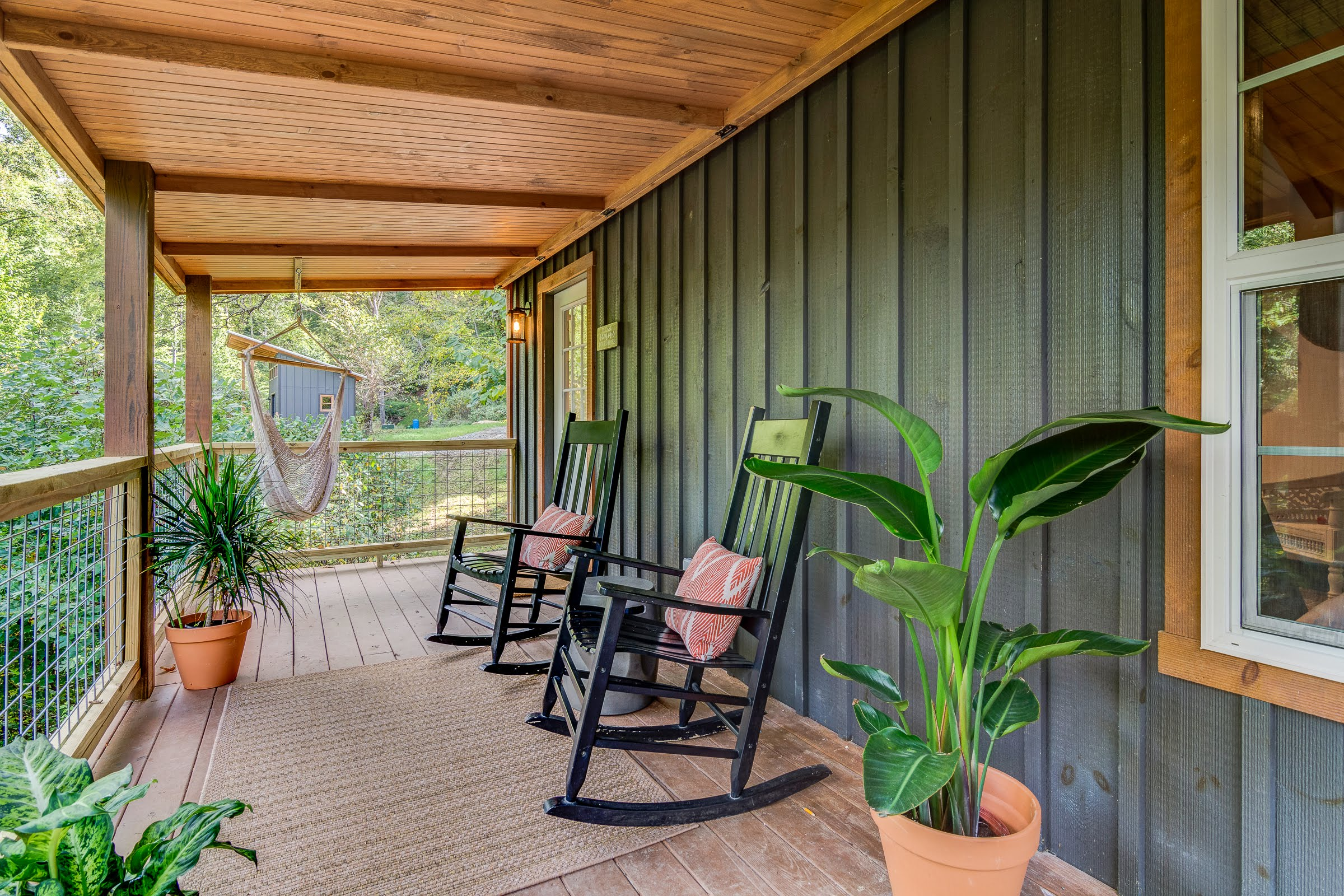 Modern updated cabins asheville sober retreat