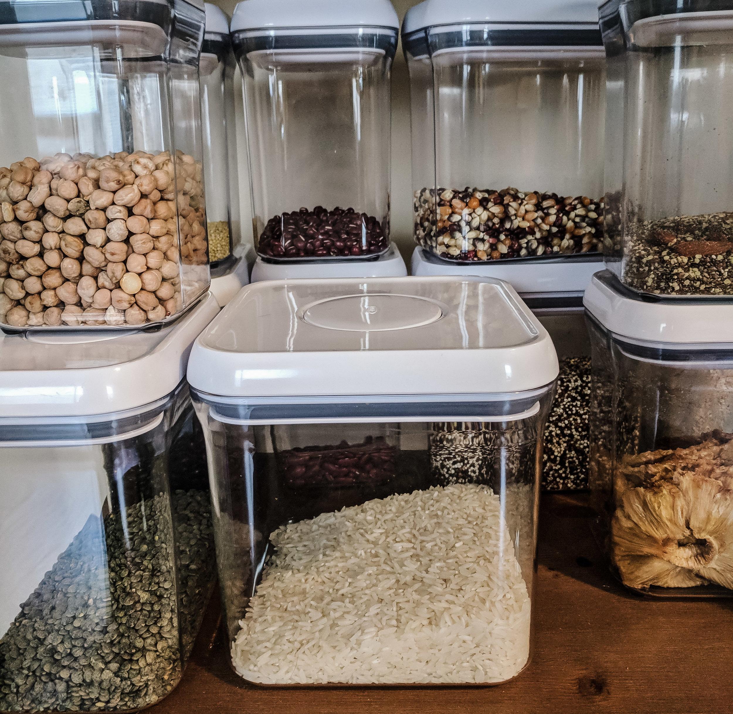 Zero Waste Oxo Pantry Storage