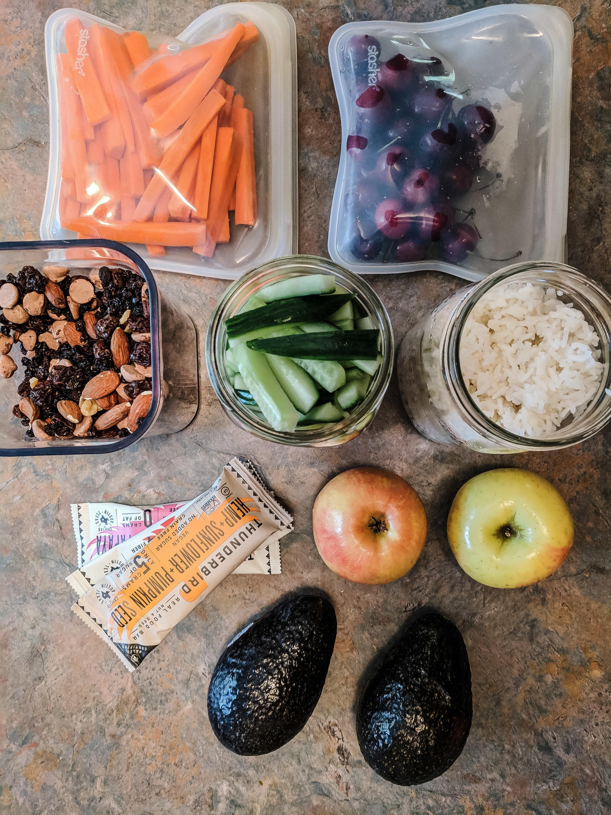 Zero waste vegan snacks