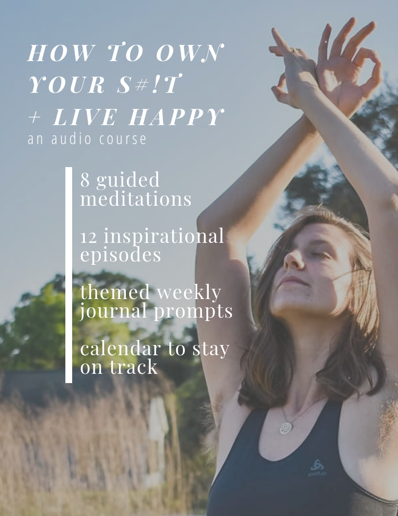 Inspirational Audio Course- guided meditations, journal prompts and more