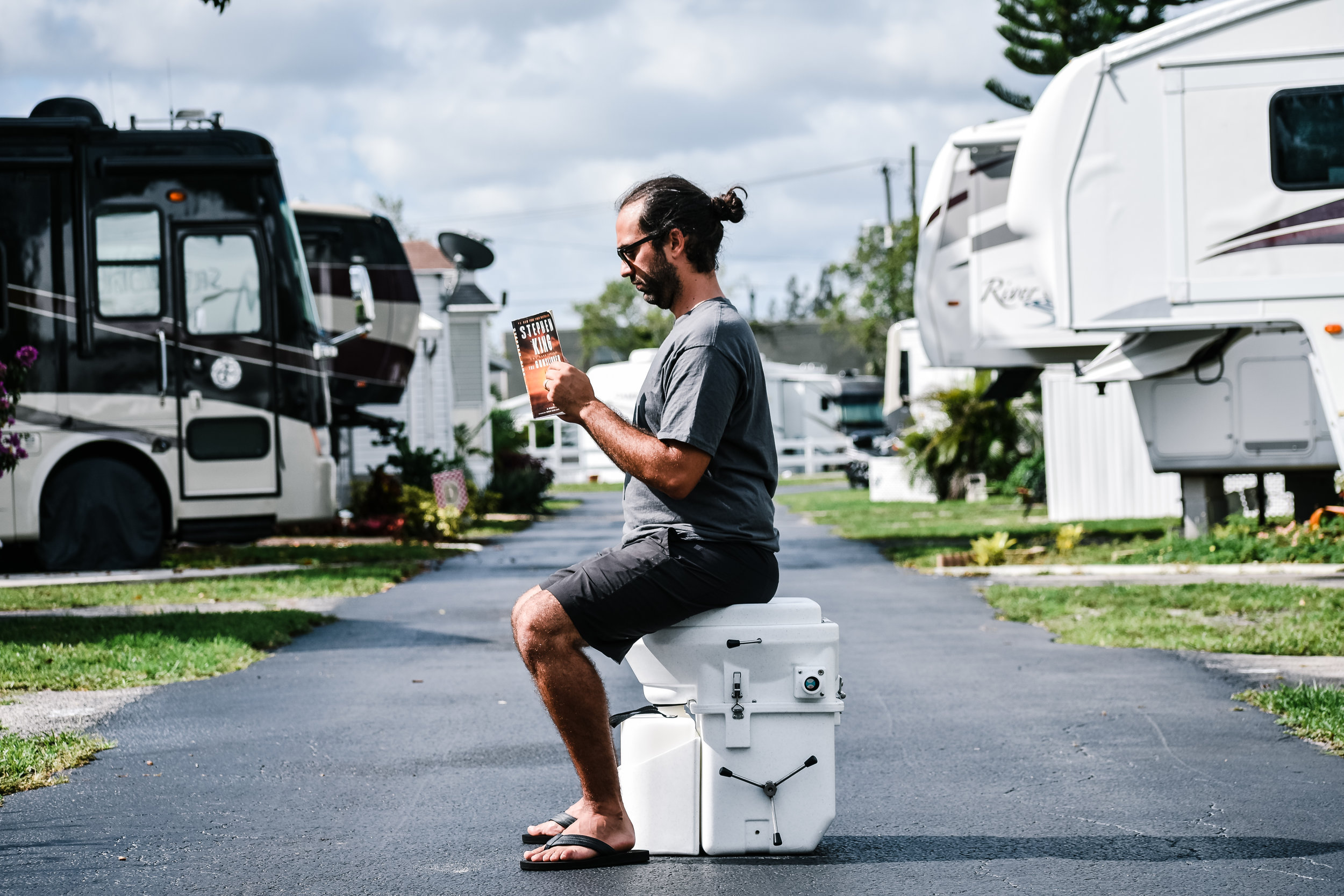 nature's head composting toilet rv park