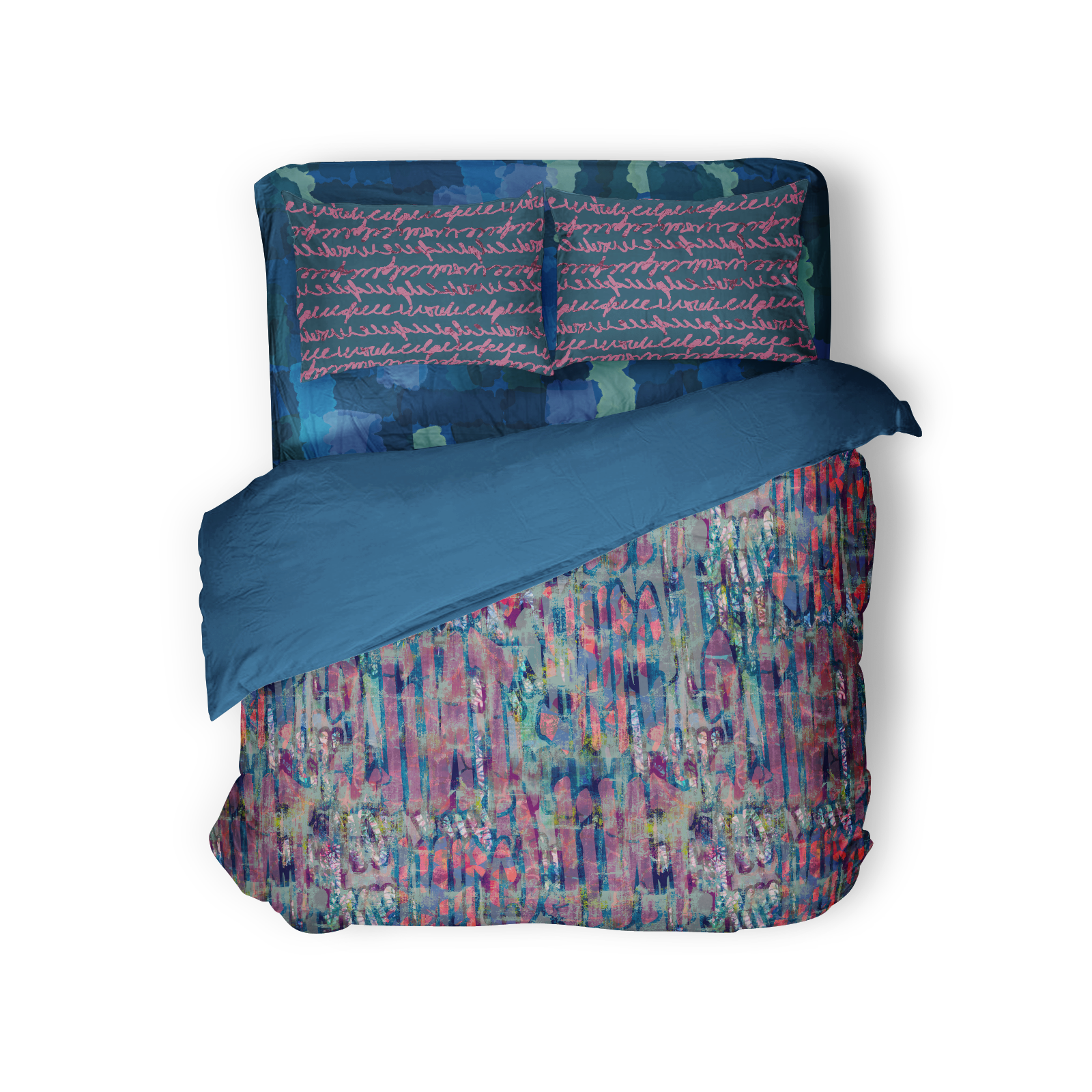 Bedding featuring Bronx Collection patterns