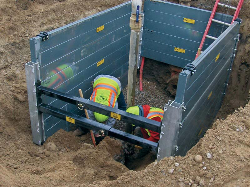 Aluminum Trench Boxes -
