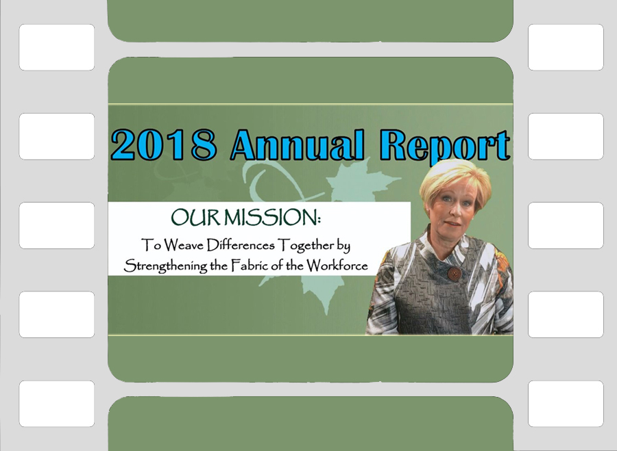 A company's Annual Report is far more interesting to viewers when the CEO and Founder presents the information in a video along with videotaped testimonials from some of the clients.