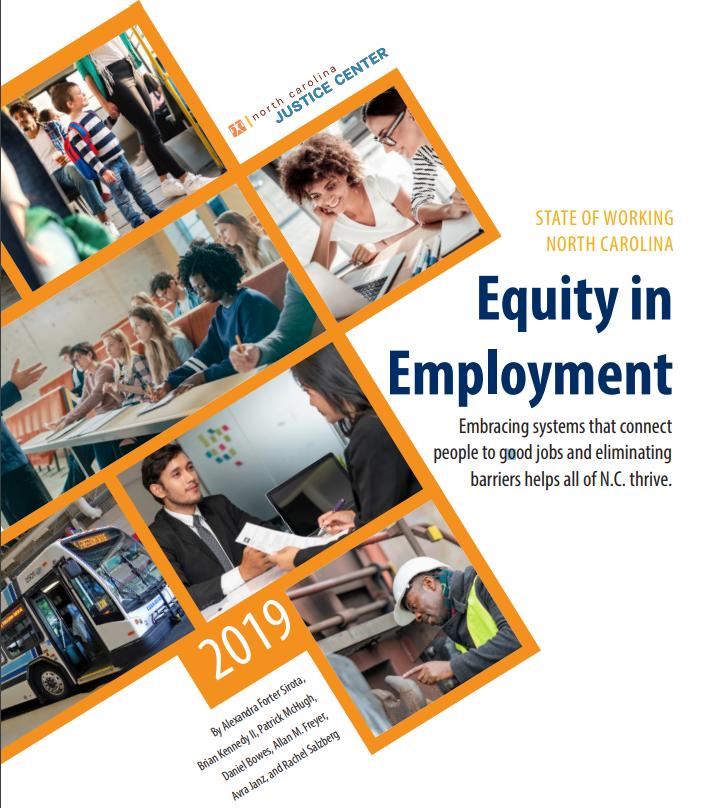 """Must read"" report: NC's increasingly inequitable economy"