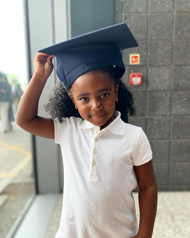 We set pace so she can achieve more than we ever will. ♥️🎓