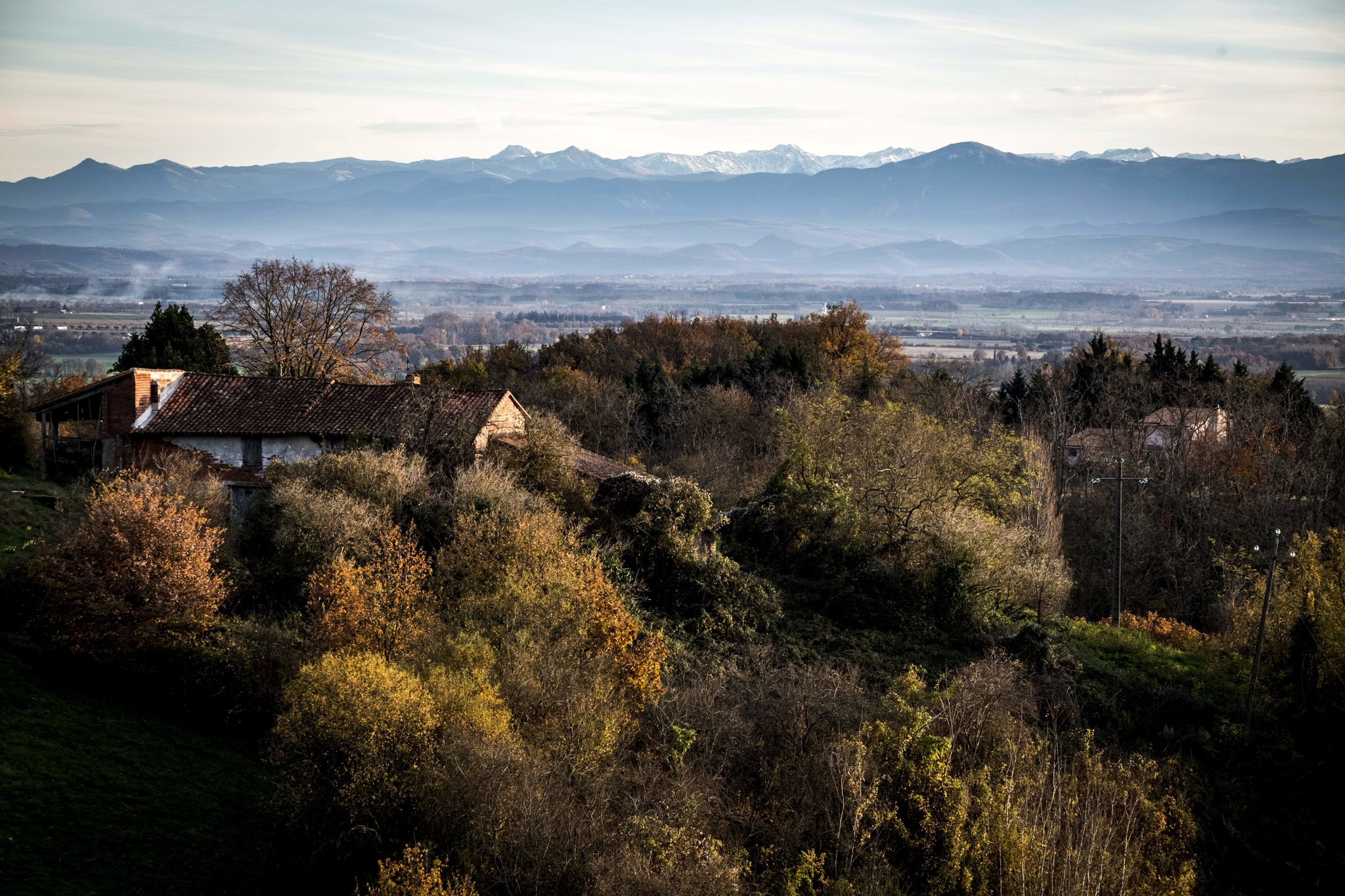 The French Pyrenees at sunset in Calmont.   Credit Eric Cabanis/Agence France-Presse — Getty Images
