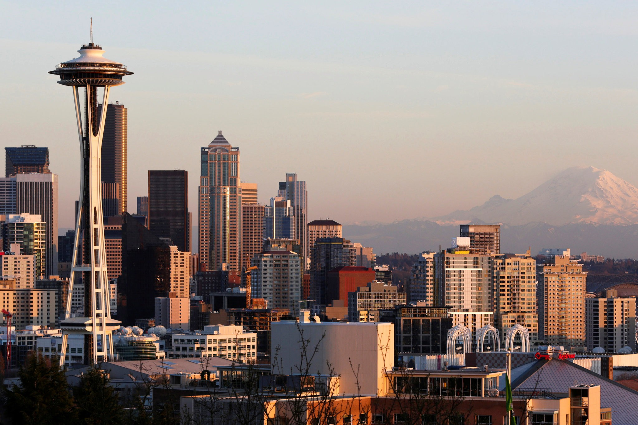 The Seattle skyline.  Credit Jason Redmond/Reuters