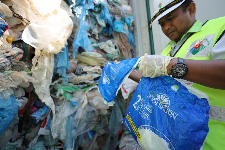 ASSOCIATED PRESS  Malaysia environment minister Yeo Bee Yin says Malaysia has become a dumping ground for the world's plastic waste, and the country has begun sending non-recyclable plastic scrap to the developed countries of origin.