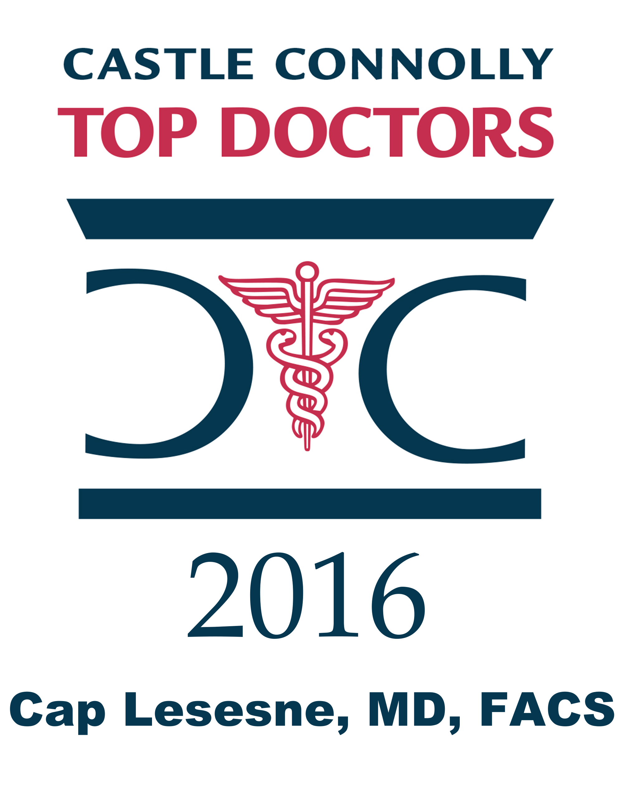 Dr. Cap Lesesne's 2016 Top Docs logo.png