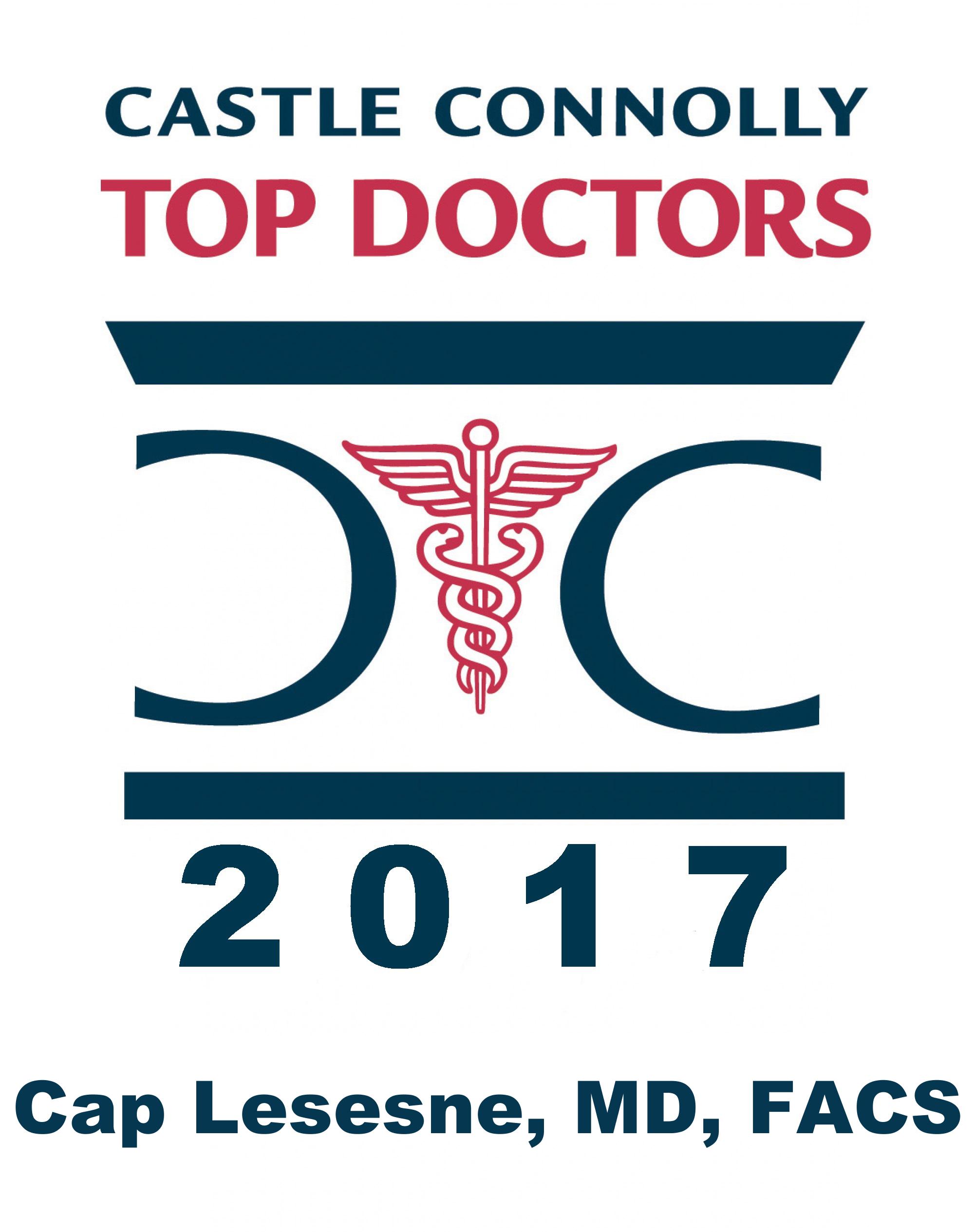Dr. Cap Lesesne's 2017 Top Docs logo.png