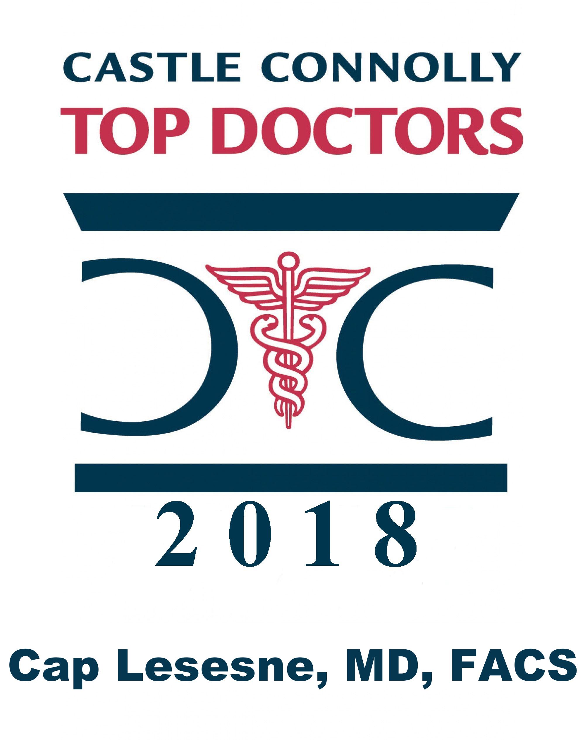 Dr. Cap Lesesne's 2018 Top Docs logo.png