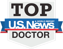 US News and World Report - Top Doctor award for excellence in plastic surgery.