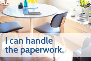 Image of a home desk with the text 'i can handle the paperwork' (small).jpg
